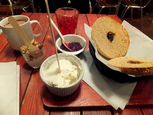 Lyon best bagels brunch petit déjeuner