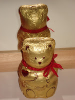 Ours de Berlin en chocolat réalisé par Lindt