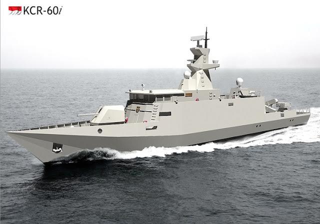 Kapal Cepat Rudal (KRC) 60 Pesanan TNI AL