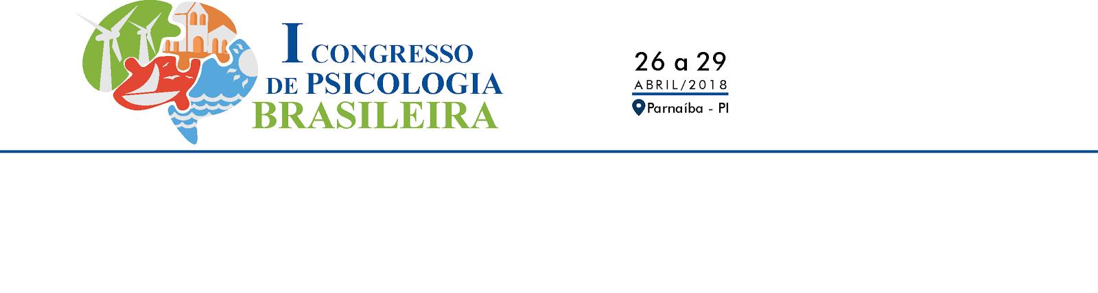 I CONGRESSO DE PSICOLOGIA BRASILEIRA