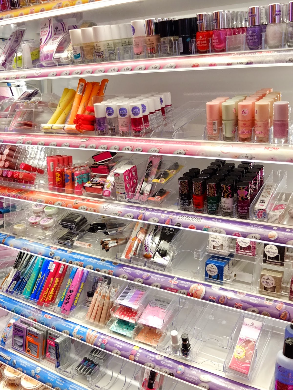 Essence Make Up Launches in the UK. Find out where the buy Essence make up in England.