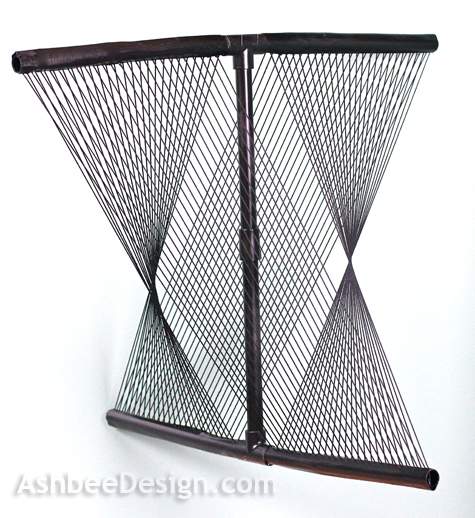 ashbee design string sculpture model sculpture week. Black Bedroom Furniture Sets. Home Design Ideas