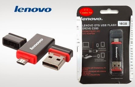 Lenovo Dual Flash Drives 8 GB for Rs 350