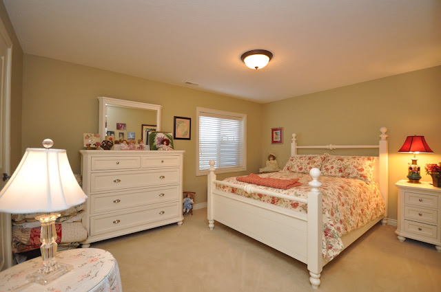 at the large and spacious bedrooms in the basement of this 3 bedroom