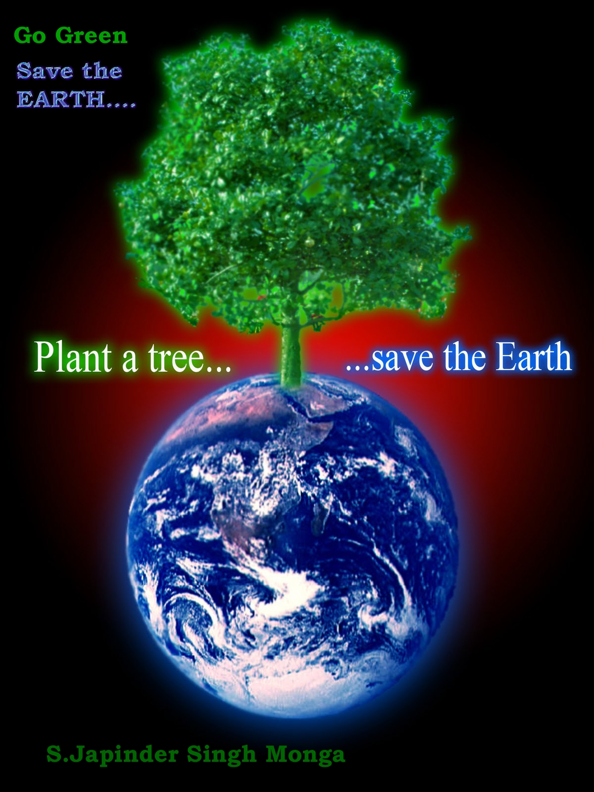 earth awareness plant a tree and save the earth plant a tree and save the earth
