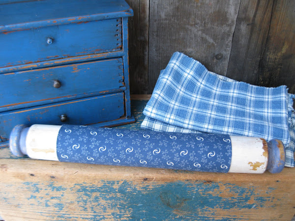 The Blue and White Rolling Pin
