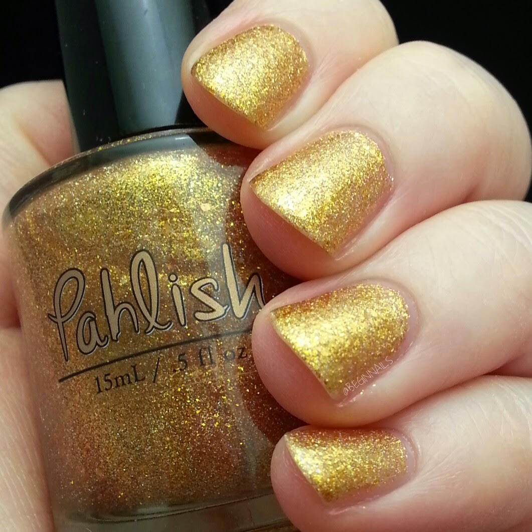 Let\'s Begin Nails: March 2015 A Box Indied Swatch and Review