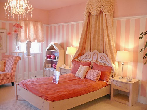 Creative Princess Themed Home Decorating Ideas For Your Girls Room