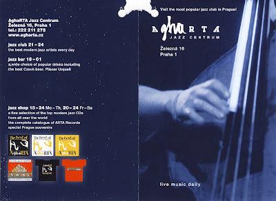 AghaRTA : Εδώ θα ακούσετε την καλύτερη jazz μουσική στην Πράγα