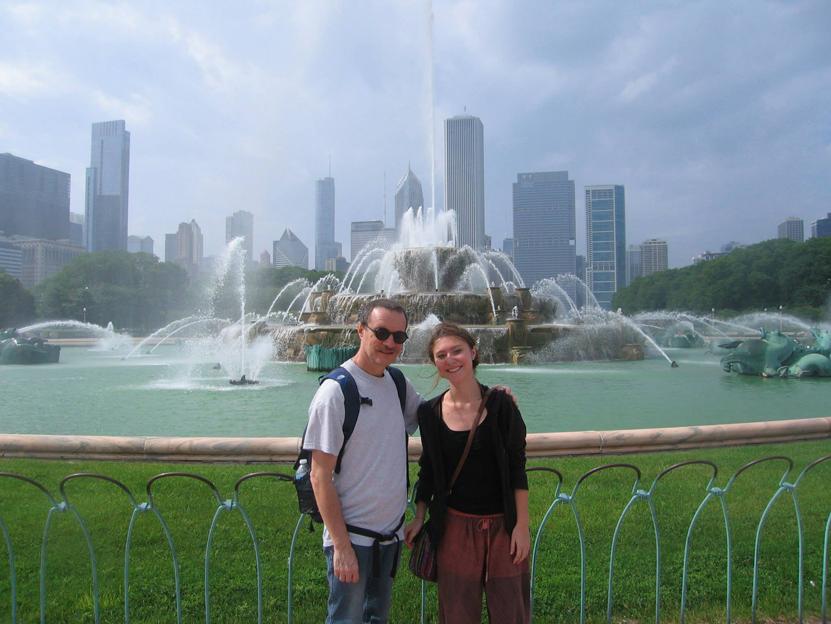 Chiara ed io negli Stati Uniti d'America