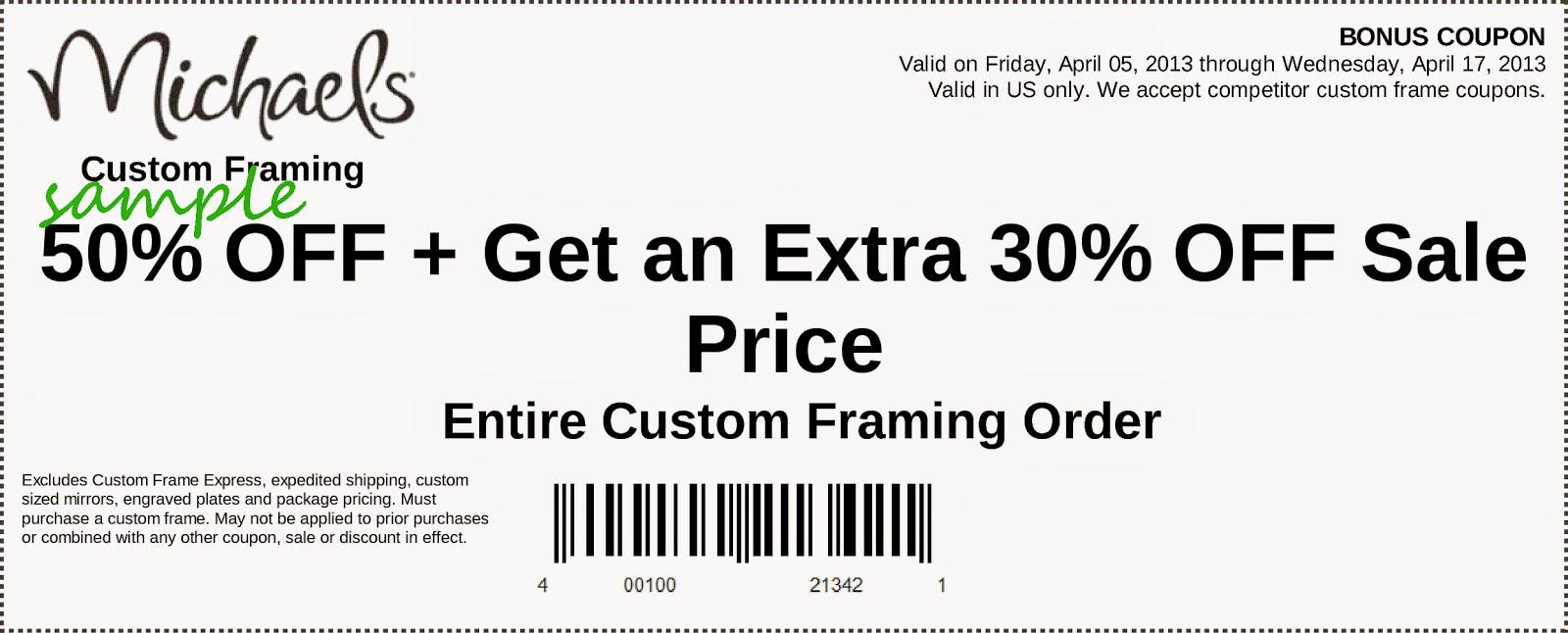 custom frames michaels coupon - Michaels Custom Framing Prices