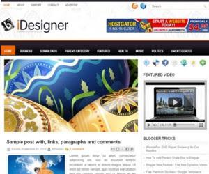 iDesigner Blogger Template