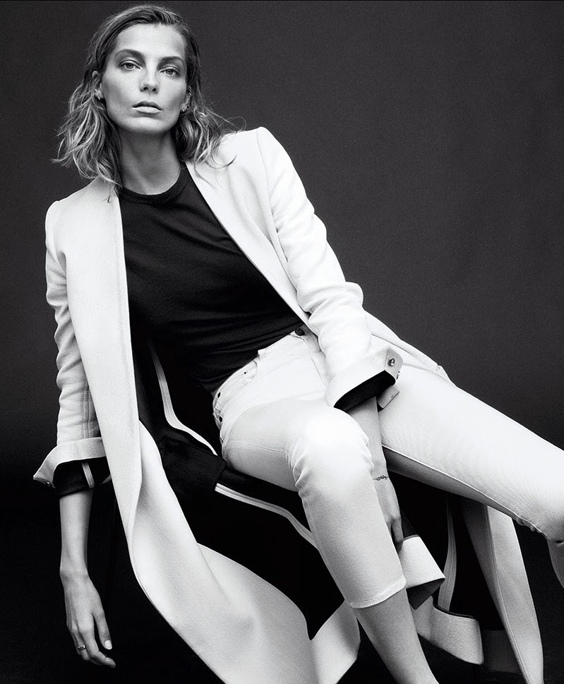 Magazine Photoshoot : Daria Werbowy Photoshot For Daniel Jackson Harper's Bazaar Magazine February 2014 Issue