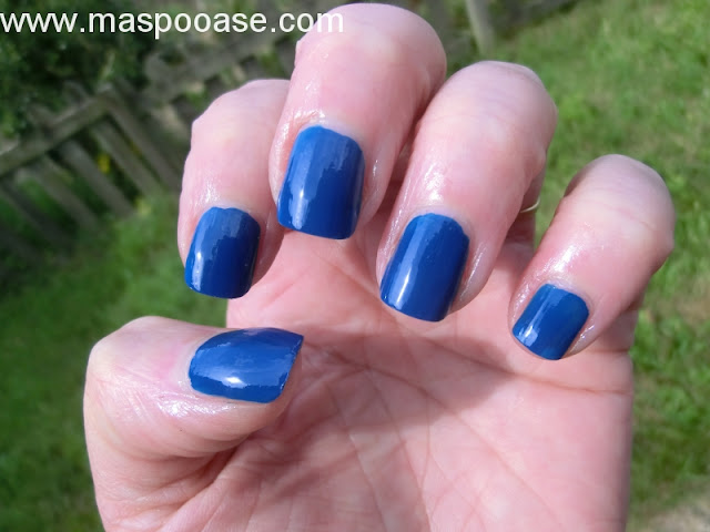 Models Own True Blue Swatch