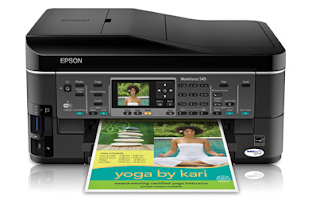 Epson WorkForce 545 Driver Download For Windows 10 And Mac OS X