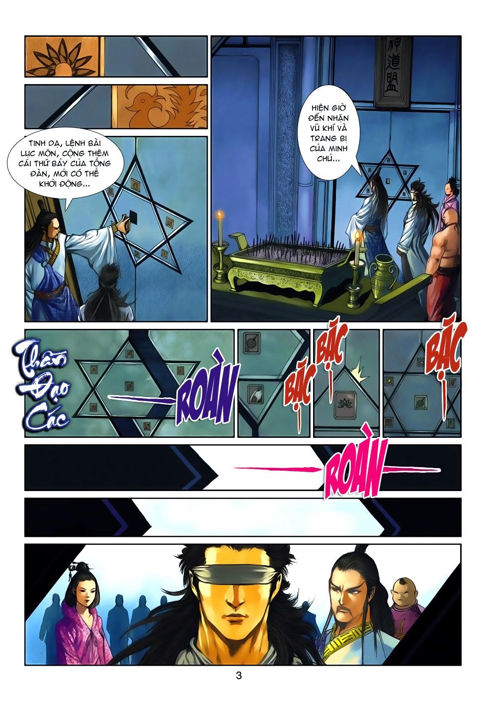 Thần Binh Tiền Truyện 4 - Huyền Thiên Tà Đế chap 10 - Trang 3