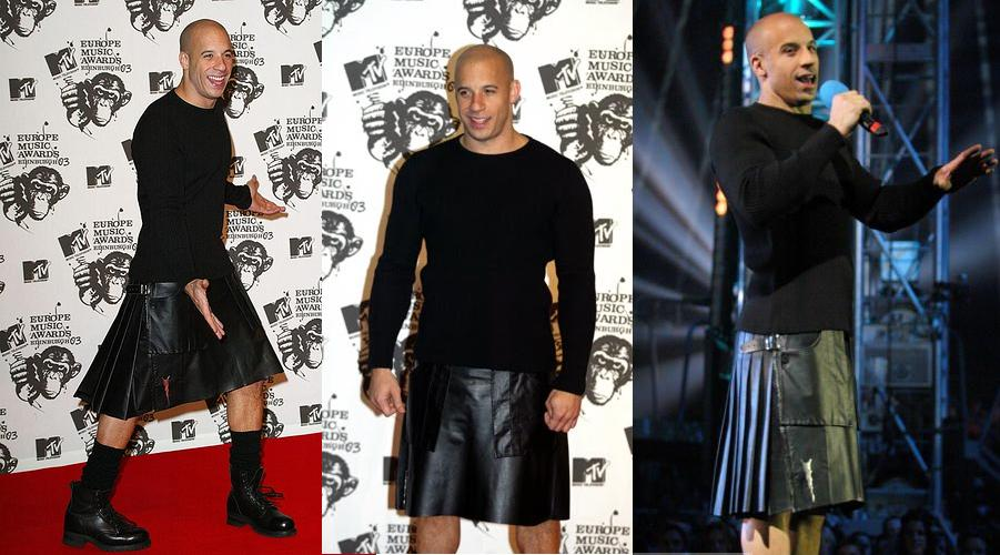 Men In Skirts - Marc Jacobs, Kanye West In Skirts