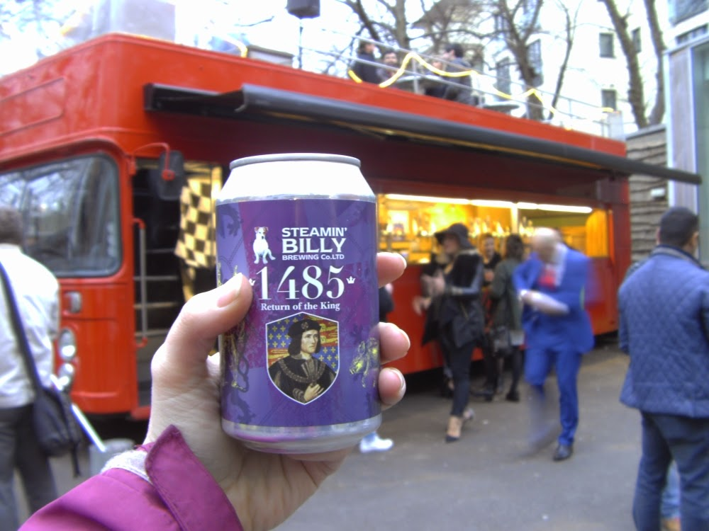 beer, bus, Leicester, King Richard III, RIII