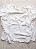 Bind black bean dye color to shirt using Alum and Cream of Tartar