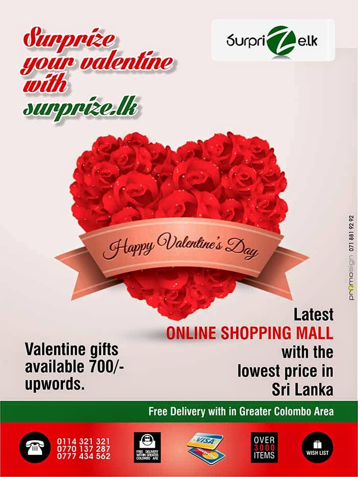 Surprize.lk  you will be able compare offers & products across the sites and choose what to shop. The electronics selection on Surprize.lk features brands such as LG, SAMSUNG, NOKIA, to name a few. In the books, movies, and music sections, customers can choose from a wide selection across English, Sinhala, Tamil & Hindi. Also available are kitchen and home appliances from reputed brands available in Sri Lanka. Furthermore, all grocery items, fruits & vegetables are available on our online store. Hence, you can shop for your day to day house hold requirements conveniently without the hassle of driving in the traffic, searching for parking, carrying and wasting your valuable time which you can enjoy with your family and friend. All expatriates who need to send gifts and house hold requirements to your love ones at home, Surprize.lk is the easiest and cheapest way to do so with guarantee on product quality and on time delivery to a price which you can afford.