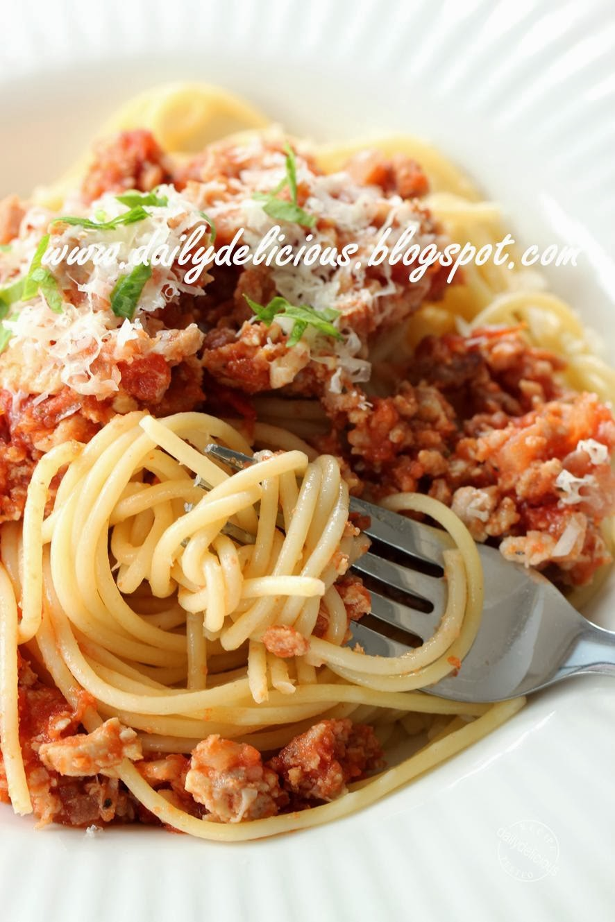 dailydelicious: Happy Cooking with LG SolarDom: Spaghetti ...