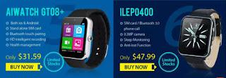 Aiwatch GT08+ and ILEP0400 smart watch