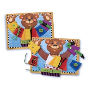 Pre-kindergarten toys - Melissa and Doug Basic Skills Board