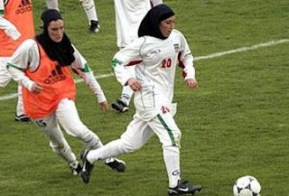 Hijab ban driving women away from soccer