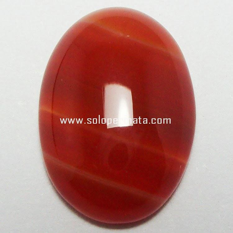 Batu Permata Agate Motif - 24A09