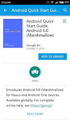 Free Ebook – Android Quick Commencement Guide, Android 6.0 (Marshmallow)