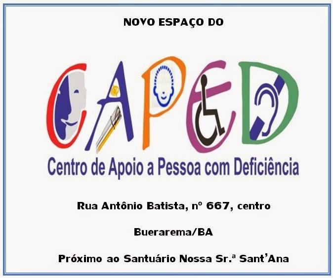CAPED COM NOVO ENDEREÇO!!