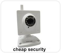 CCTV cheap security