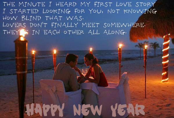 Happy New Year Messages For Lovers