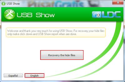 USB Show: mengembalikan isi flashdisk yang hilang karena virus