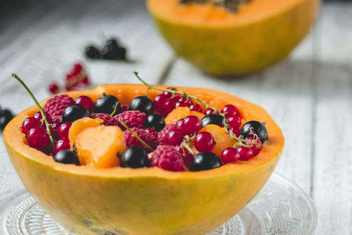 papaya bowl salad recipe