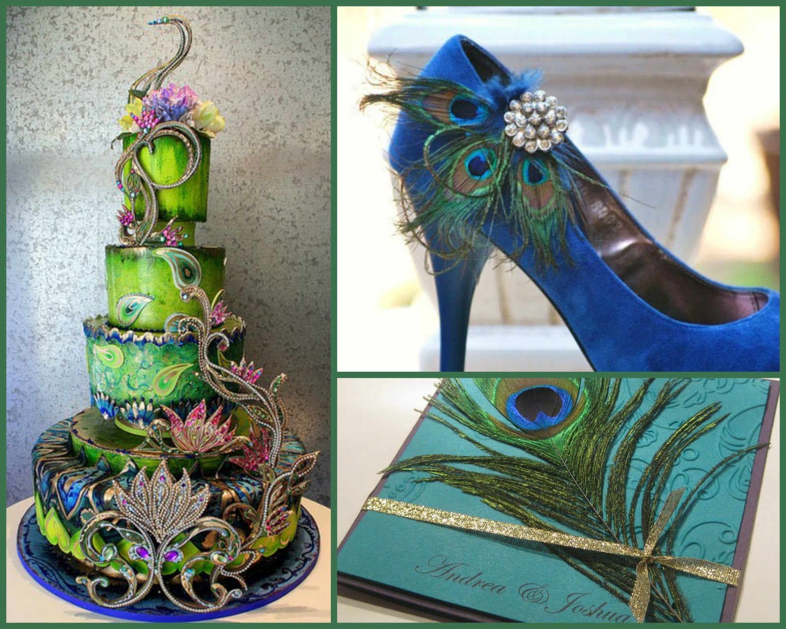A Marriage of Passion & Style Peacock Party