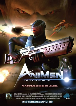AniMen: Triton Force (2010)