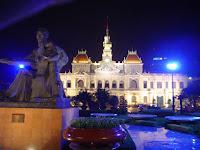Popular Committee. Ho Chi Minh Stadt. Vietnam