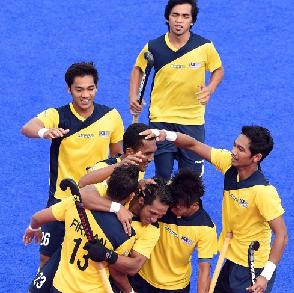 Malaysia Vs Pakistan Separuh Akhir Hoki Sukan Asia 2014