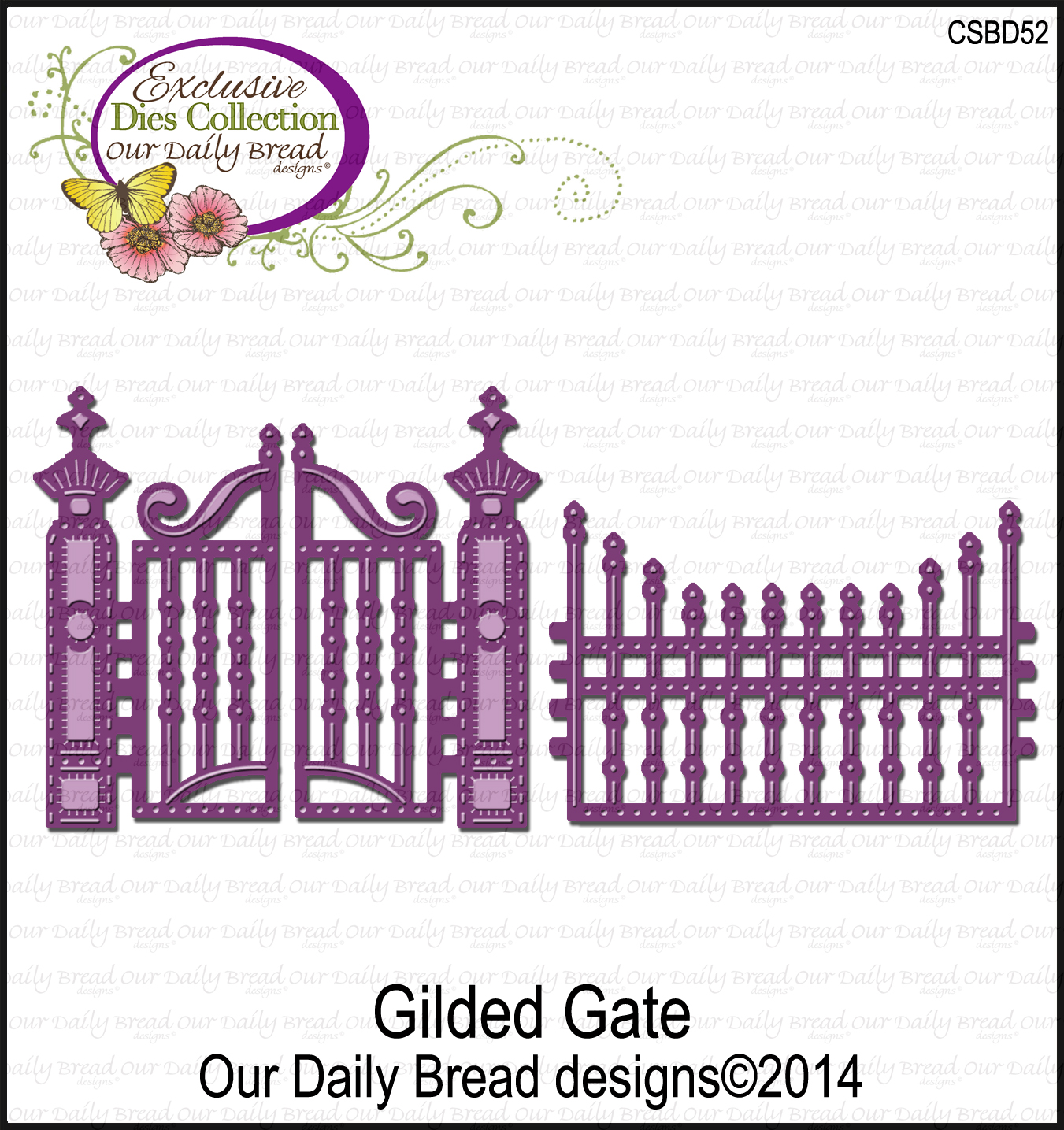 ODBD Custom Gilded Gate Die