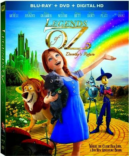 ดูการ์ตูน Legends of Oz Dorothy's Return ตำนานแดนมหัศจรรย์ พ่อมดอ๊อซ
