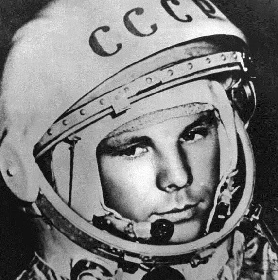 Most notable Russian Cosmonaut; Yuri Gagarin | image: ESA