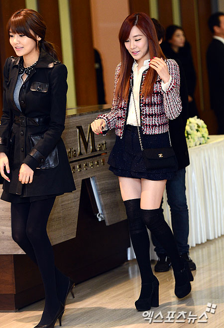 Sooyoung dan Tiffany SNSD Hadir di Pernikahan Hong Rok-gi 02