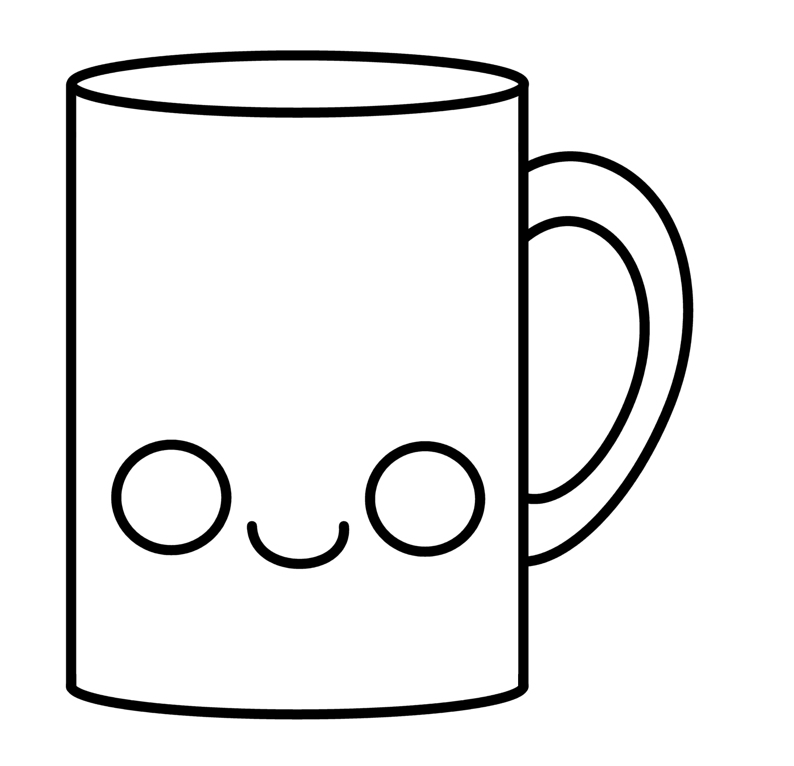 How to Draw a Cartoon Cup of Coffee Cute and Easy with
