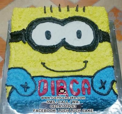 Kue Tart Minion Daerah Surabaya - Sidoarjo