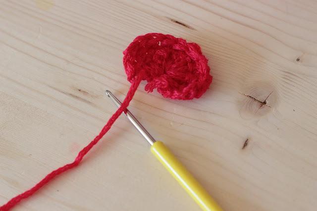 coquelicot au crochet