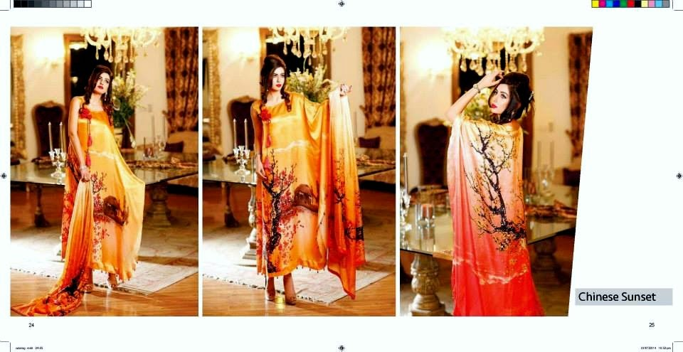 Zarqash Luxury Eid Collection 2014
