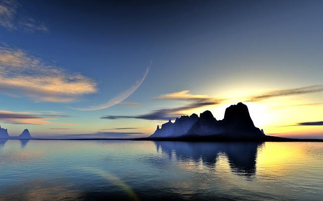 Montanas Playas Paisajes Naturales