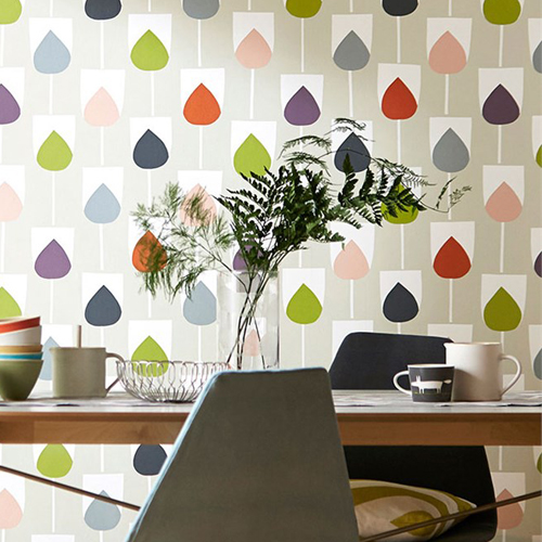 Print pattern new collection scion for Kitchen print wallpaper