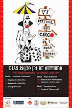 6° festival do circo em Duas Barras